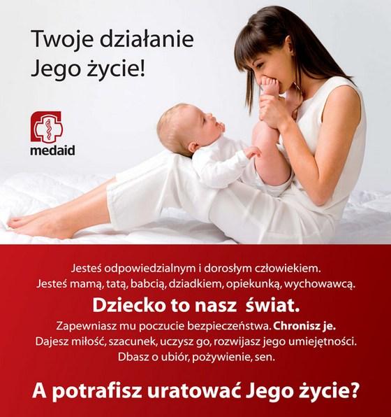 Kurs pediatryczny dla rodziców i opiekunów (pierwsza pomoc dzieciom)