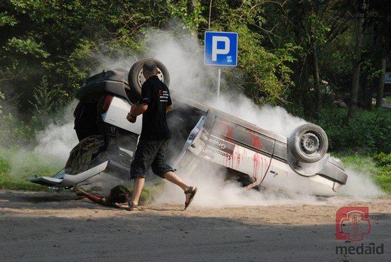 Kurs pierwszej pomocy dla kierowców