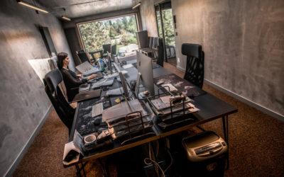 Księżniczka z wysokiej wieży poznańskiego biura Medaid