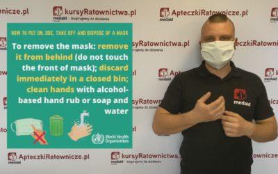 Jak nosić maskę?