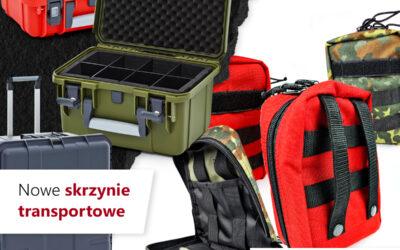 Nowe apteczki i walizki